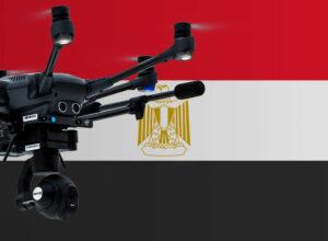 Drohne fliegen in Ägypten