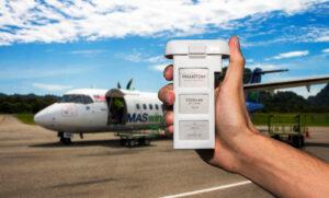 Airline-Flugzeug-Drohnen-Lipo-Akku-Bestimmungen