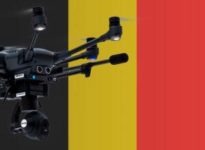 Drohnen in Belgien