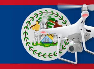 Drohne fliegen in Belize
