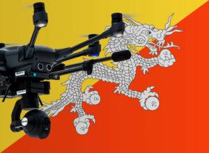 Drohne in Bhutan fliegen
