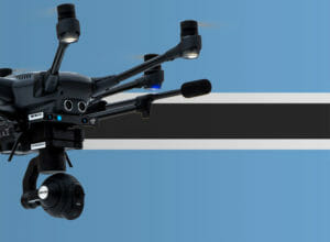 Drohne fliegen in Botsuana