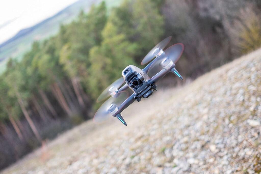 FPV-Flug mit DJI-Drohne