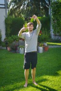 Test der Mavic-Gestensteuerung