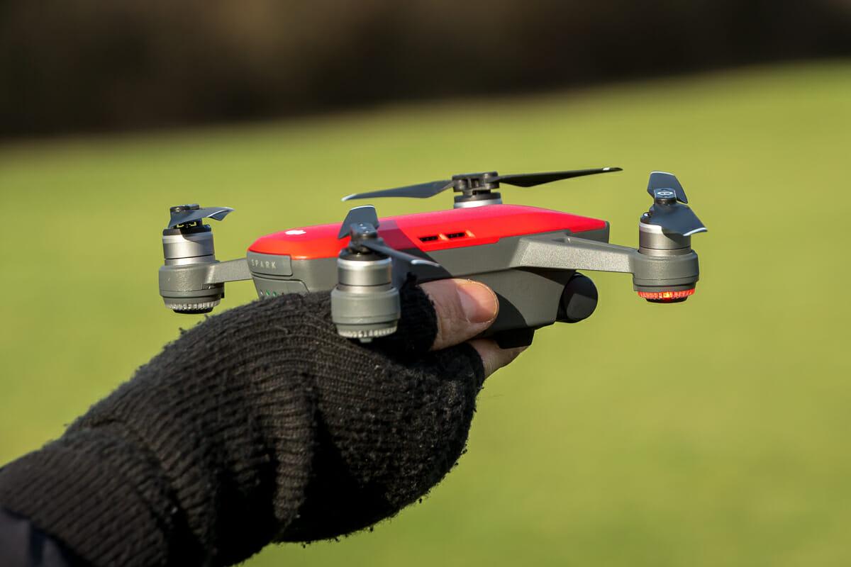 Die kompakte Drohne DJI Spark