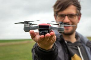 Die neue Selfie-Drohne DJI Spark
