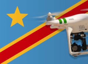Drohne fliegen in der Demokratischen Republik Kongo