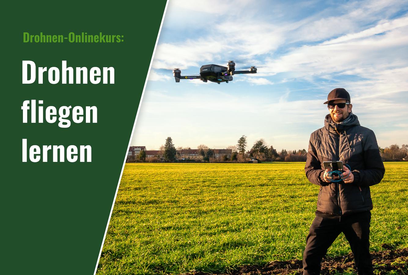 Drohnen fliegen lernen - Fkugschule für Einsteiger Onlinekurs