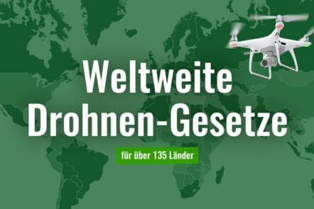 Drohnen-Gesetze weltweit in über 135 Ländern mit Karte
