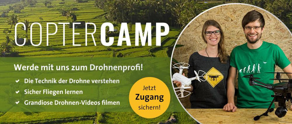 Copter Camp - der Drohnen-Onlinekurs
