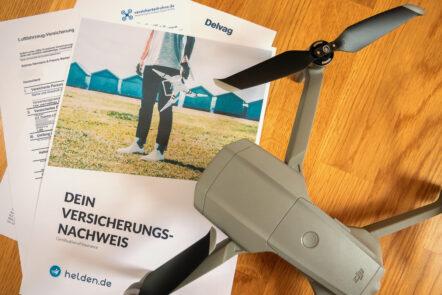 Drohnen-Versicherungen verschiedener Anbieter im Vergleich
