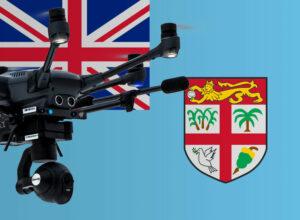Drohne fliegen in Fidschi