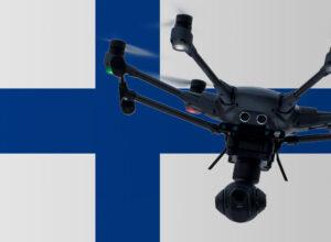 Drohne fliegen in Finnland