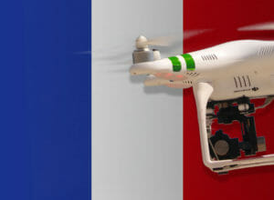 Drohne in Frankreich fliegen