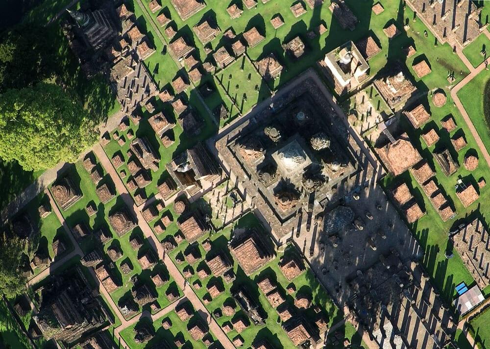 Ruinen im Geschichtspark Sukhothai (November 2015)