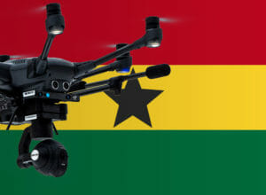 Mit Drohne in Ghana fliegen