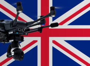 Drohnen Regeln in Großbritannien, dem Vereinigten Königreich, England