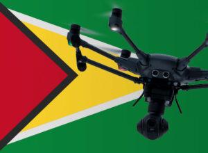 Drohne fliegen in Guyana