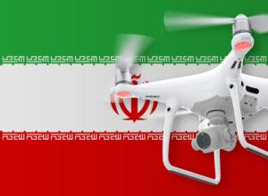 Drohne fliegen im Iran
