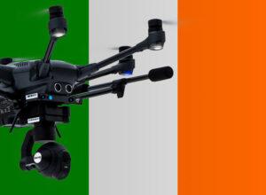 Drohne fliegen in Irland