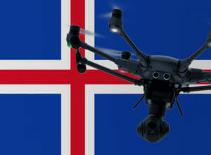 Drohnen Regeln in Island