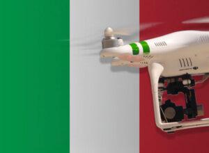 Drohne fliegen in Italien