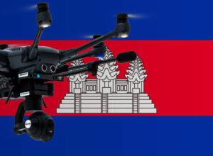 Drohne fliegen in Kambodscha
