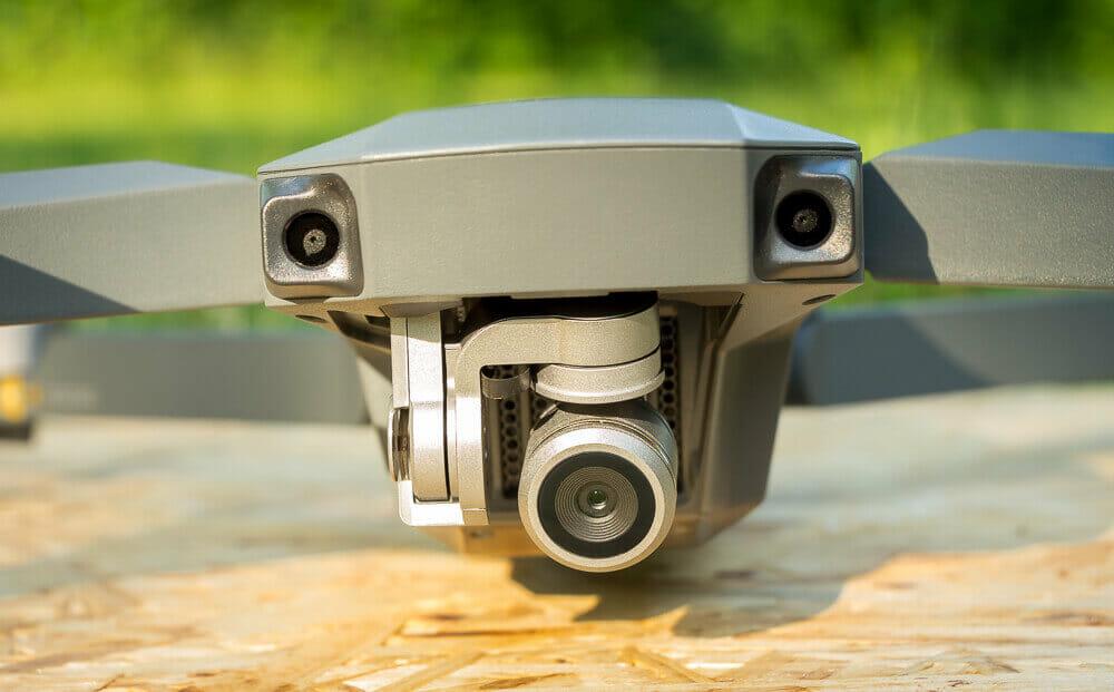 DJI Mavic Pro mit Kamera und VPS-Sensoren