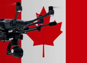 Drohne in Kanada