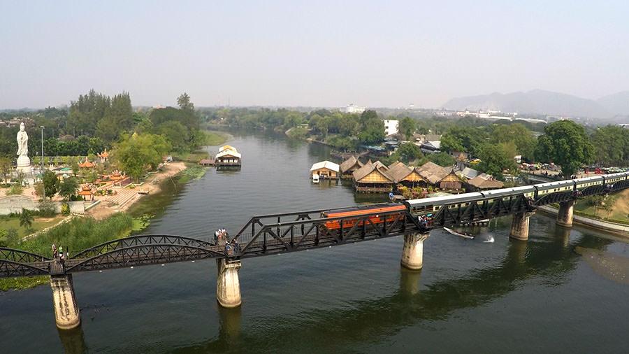 Brücke am Kwai in Kanchanaburi