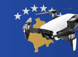 Drohne fliegen im Kosovo