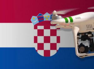 Drohne fliegen in Kroatien