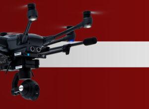 Drohne fliegen in Lettland