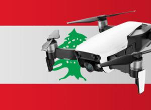 Drohne fliegen im Libanon