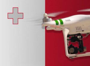 Drohne fliegen auf Malta