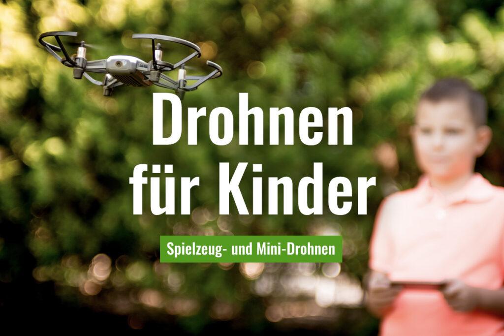 Mini- und Spielzeug-Drohnen für Kinder und Jugendliche