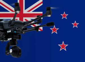 Drohnen in Neuseeland fliegen