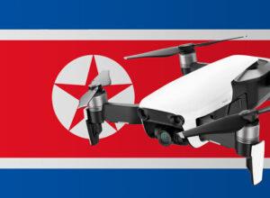 Drohne fliegen in Nordkorea