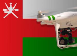 Drohne im Oman fliegen