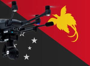Drohne fliegen in Papua-Neuguinea