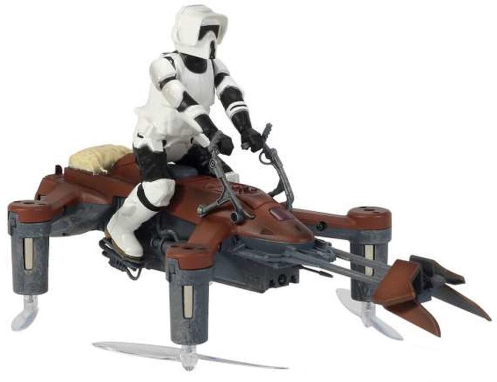 Propel Star Wars-Drohne Speed Biker und andere Raumschiffe als Spielzeug für Kinder