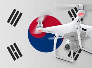 Drohne fliegen in Südkorea