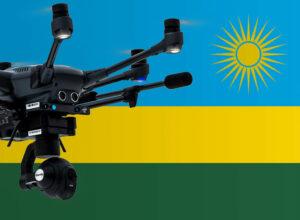 Drohne fliegen in Ruanda