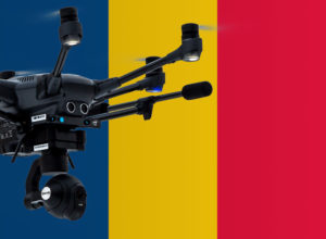 Drohne fliegen in Rumänien
