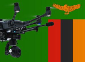 Drohne fliegen in Sambia