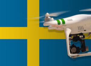 Drohne fliegen in Schweden