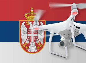 Drohnen in Serbien