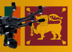 Mit Drohne in Sri Lanka fliegen