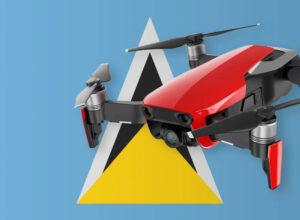 Drohne fliegen in St. Lucia
