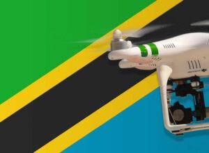 Drohne fliegen in Tansania